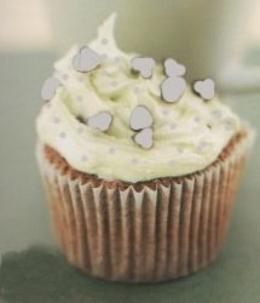 Edward Ice Twilight Cupcake - Minty Cool!