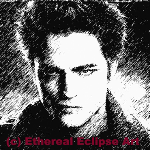 How to Draw Edward Cullen Step by Step