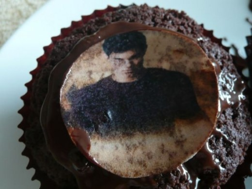 Jacob Black cupcake topper