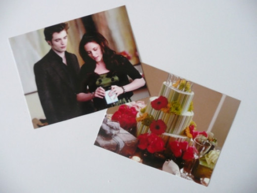 Photo images from Bella's birthday party in New Moon