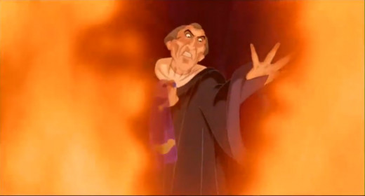 Frollo and hellfire