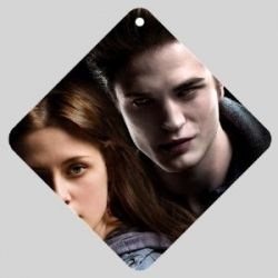 Twilight Edward and Bella Car Window Sign