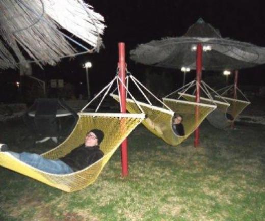 Hammocks: How Siblings Relax in Simultaneous Style!