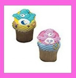 Care Bears Birthday Cupcakes