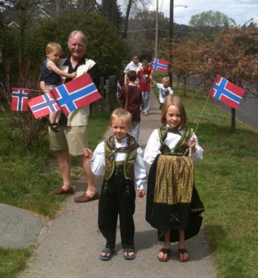 Norwegian American Bunads