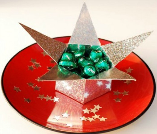 43 creative star craft ideas hubpages for Christmas star craft ideas
