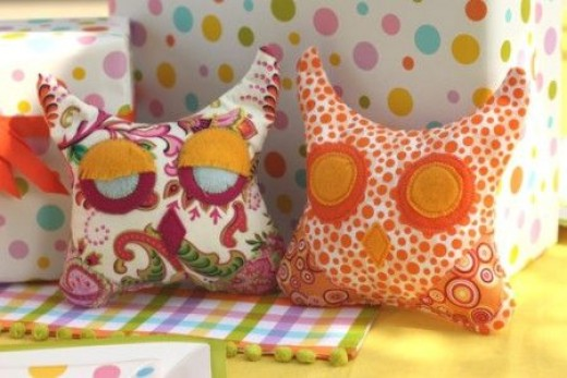 owl-pillows