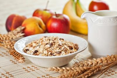 A healthy oatmeal