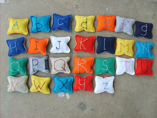 craft-t-shirt-alphabet-bean-bags
