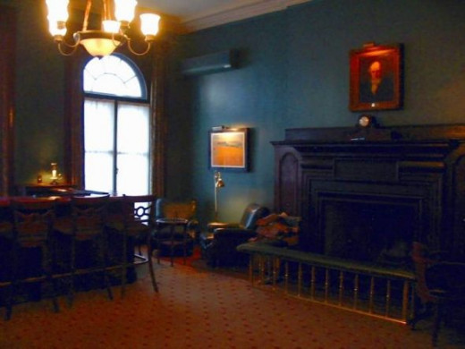 University Club's Leacock room