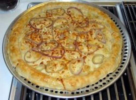 Cheesy Onion & Garlic