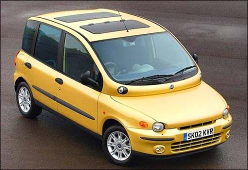 Fiat Multipla Boot. Fiat Multipla