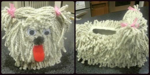 How To Make Puppy Dog Valentine Craft Pattern