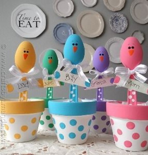 Home Craft Ideas Easter Bunny Flower Pot Craft Flower Pot: 53 Inspiring Clay Pot Crafts