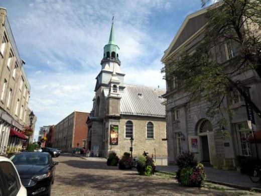 Notre-Dame-de-Bon-Secours Chapel (built in1771) and Mariners Museum