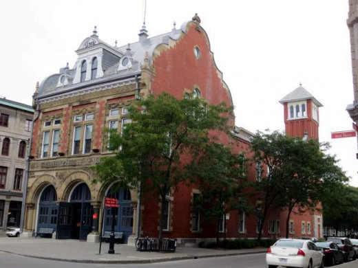 The old Cazerne (Fire Station) which houses The Montreal History Center.