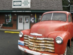 "Forks, Washington Home of ""Twilight"" Vampires"