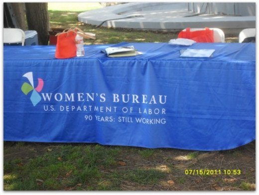 One of the major sponsors of the Homeless Female Veterans Stand Down.