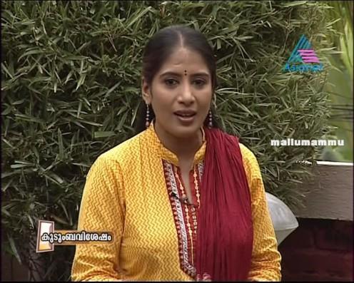 Malayalam Serial Actress Hot Photos TV Caps