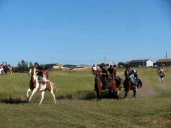 Pine Ridge Rez boys during a Back to Back Horse Race photo by C.McGraw