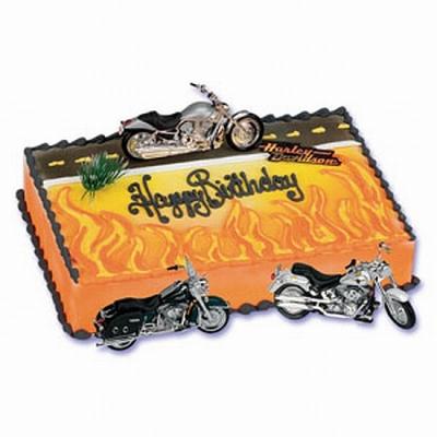 Harley Davidson Motorcycle Cake Kit