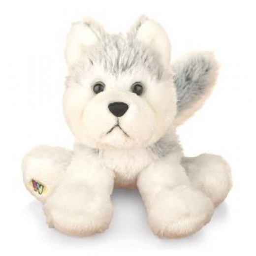 Webkinz Husky Puppy. Includes Free Webkinz In Game Code
