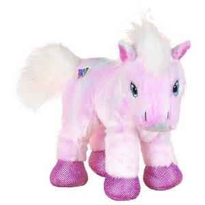 Webkinz Pink Pony. Includes Free Webkinz In Game Code