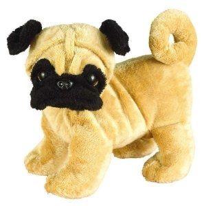Webkinz Pug Puppy. Includes Free Webkinz In Game Code