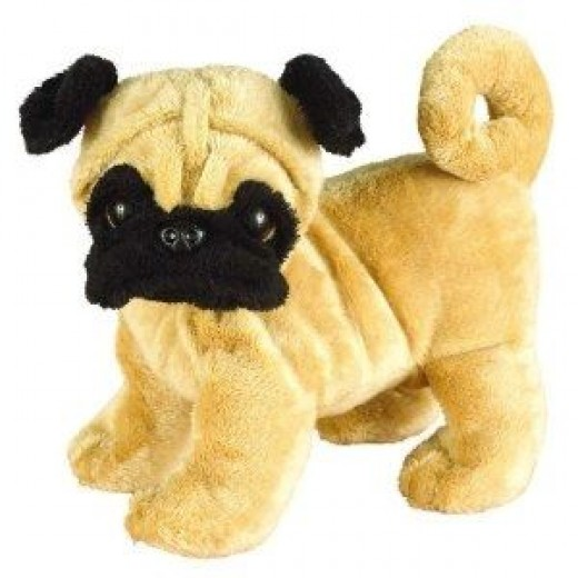 Webkinz Pug Puppy. Includes Free Webkinz In Game Code