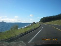 Now Taupo is not far away.