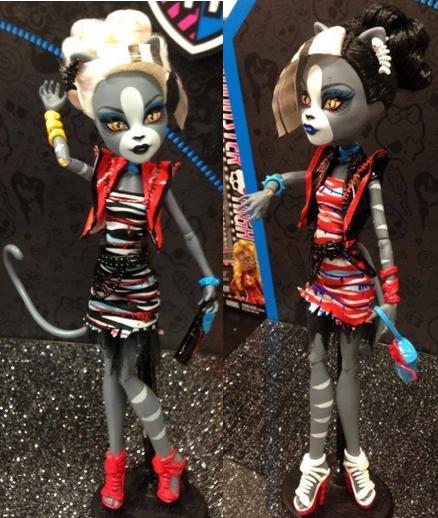 monster high zombie shake dance dolls
