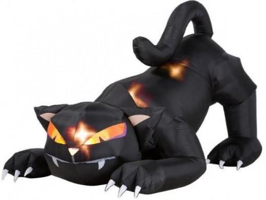 Airblown Halloween Black Cats