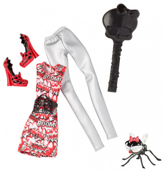 Wydowna Spider extra outfit and pet