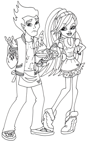 Abbey and heath home ick coloring sheet