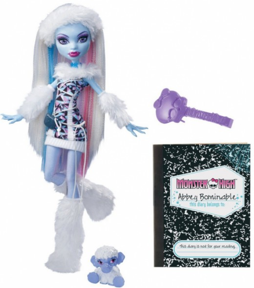 Abbey Bominable Doll with Pet Shiver