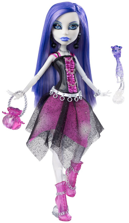 Spectra Vondergeist Doll With Pet Ferret Rhuen
