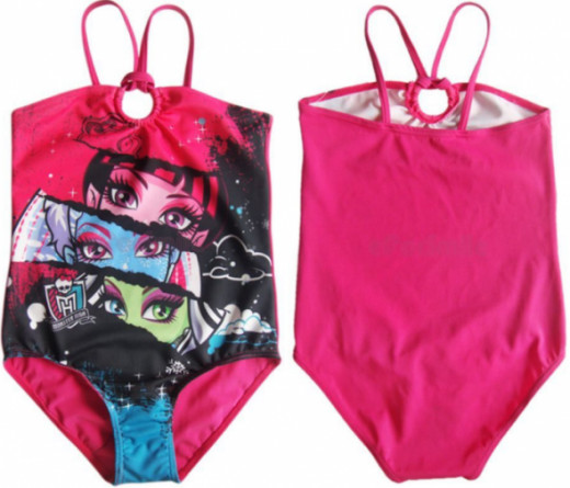 Halter Neck One Piece Monster High Swimsuit