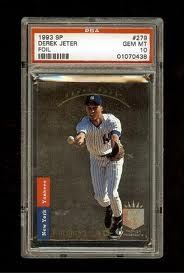 1993 Upper Deck SP Derek Jeter Rookie Card