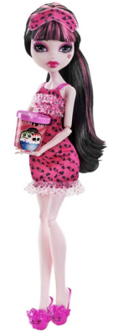 Draculaura Monster High Dead Tired Doll