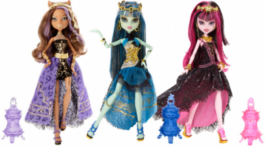 Monster High 13 Wishes Party Dolls