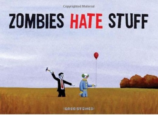 Zombie hate stuff book