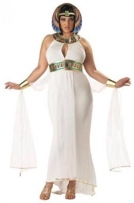 plus size adult cleopatra costume