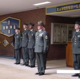 A friend's BCT graduation ceremony