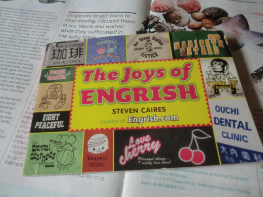 The front cover of The Joys of Engrish