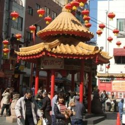 Chinese New Year in Chinatown, Kobe, Japan