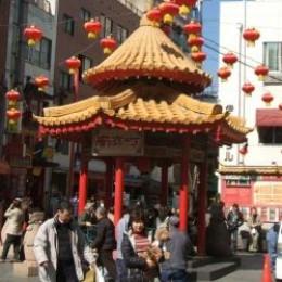 Chinese New Year in Chinatown, Kobe, Japan