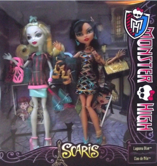 Picture of Cleo and Lagoona Scaris Doll