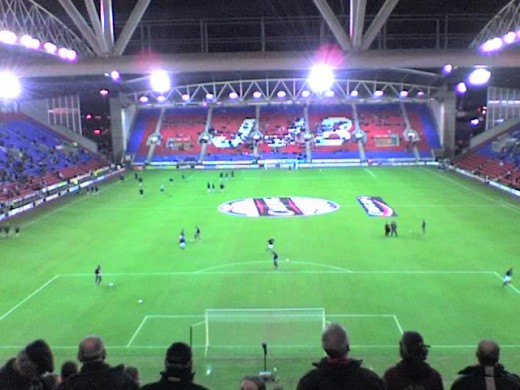 DW Stadium, Wigan Athletic
