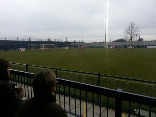 Rowley Park - St Neots Town (Not in English Football League although hopefully one day!!)