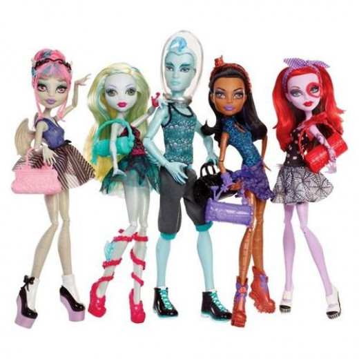 Monster High Dance Class Dolls with Gil Webber